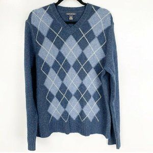 2 for $20 BR Luxury Winter Blend Argyle Sweater